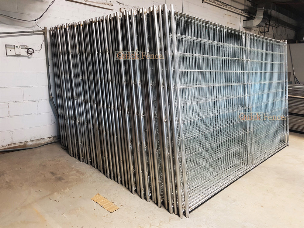 Wedlded Wire Dog Fences By Quick Fence Inc