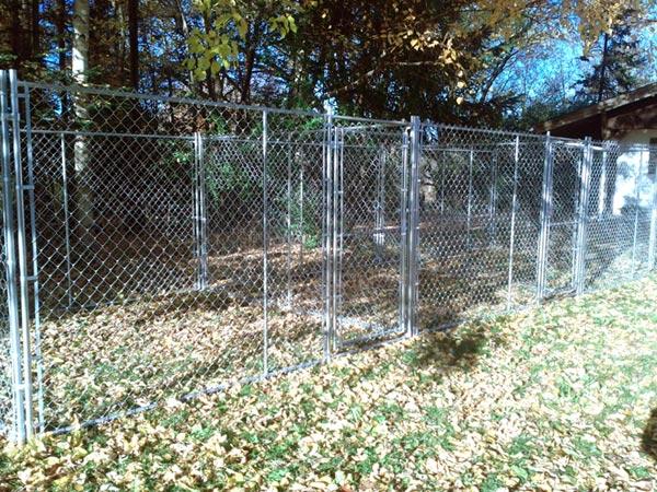 Chain Link Dog Runs Outdoor Dog Fences Dog Enclosures